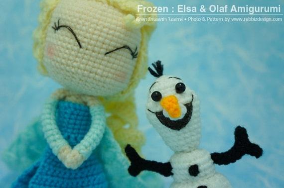 Amigurumi Patterns Olaf : Elsa and olaf amigurumi by anyazoe on deviantart plushies