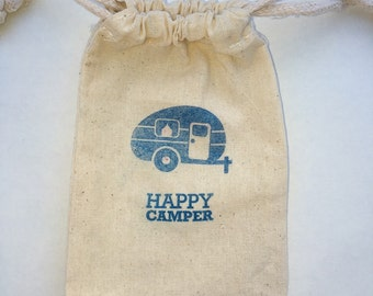 Camping party Favor Bags / Set of 35/Birthday Party Favor Bag