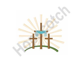 Easter Crosses - Machine Embroidery , Crosses, Easter