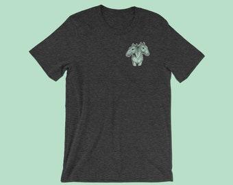 Horse Oddity Shirt   Weird Taxidermy   Occult Clothing    Nature Inspired   Curiosities   Weird Stuff   Nature Lover Gift   Macabre
