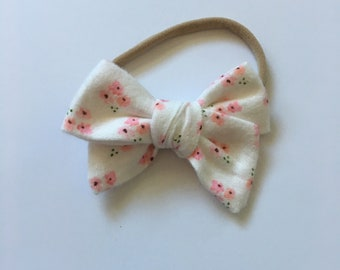Fresh Floral spring bow