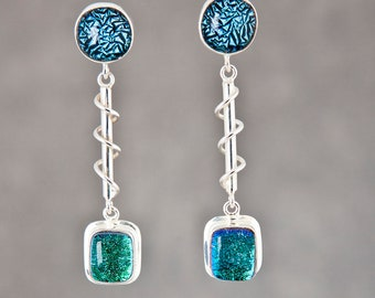 Spiral Staircase Earrings