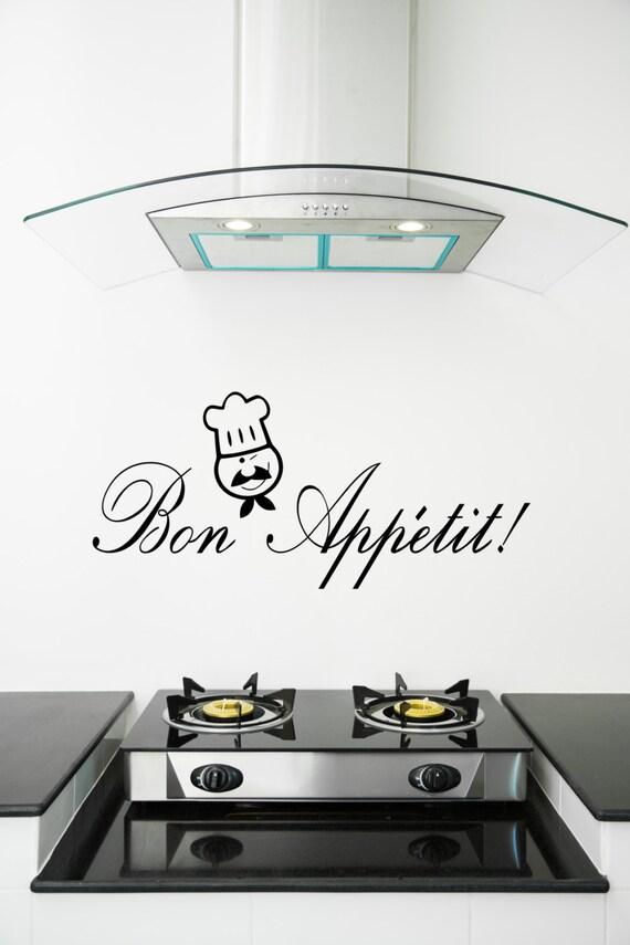 Bon Appetit Aufkleber Bon Appetit Küche Wandkunst