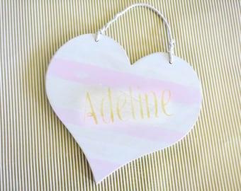 mini name heart