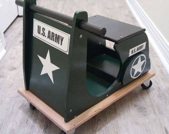 Military Vespa Scooter for Toddlers