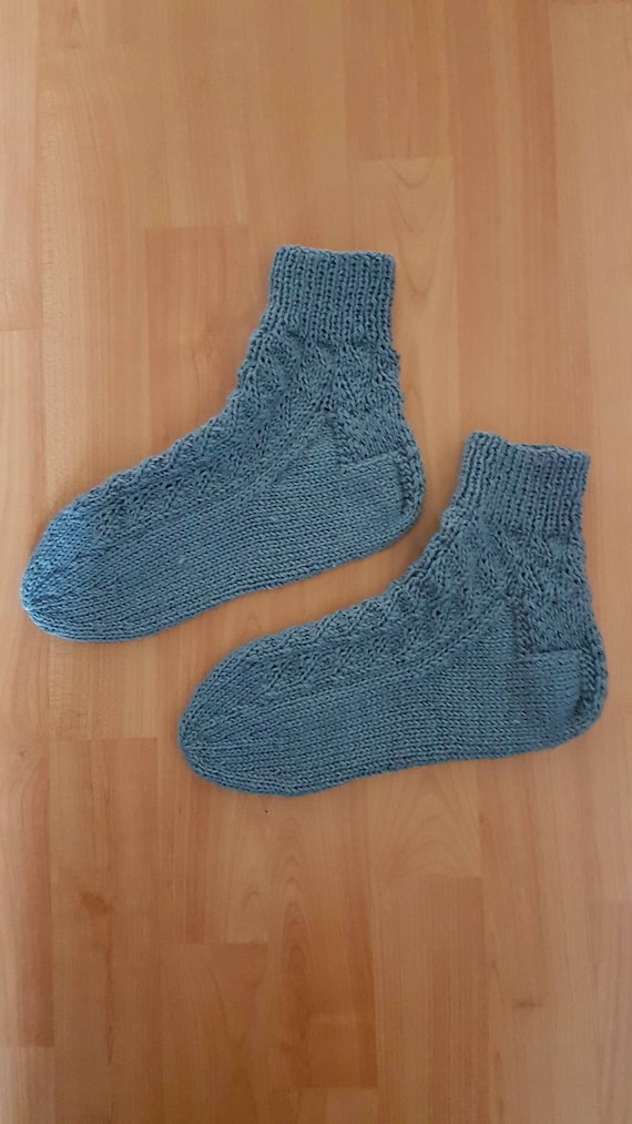 Hand-knitted socks - size 40/41 ztwcix