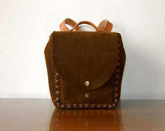 Baby Leather Backpack