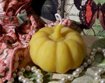 Beeswax Long Stem Pumpkin Candle