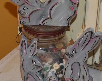 Primitive 3pc bunny set