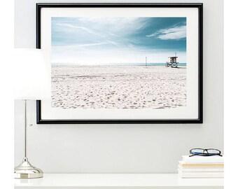 Newport Beach, California beach, photo print, summer vibes, nautical decoration, sand photo, home decor, beach wall art, @richardlephoto