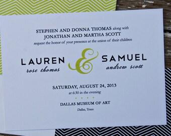 Wedding Invitations - Lauren