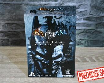 Batman Arkham PS3 Collection box - box PS4 (!) NO GAME!)
