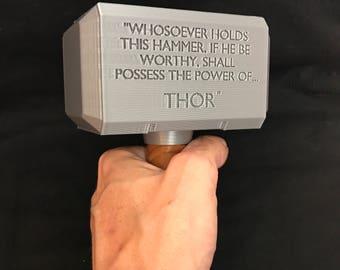 thor hammer replica etsy