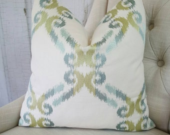 Teal Throw Pillow Cover Teal Pillow       Lumbar Accent Throw Cover Decorative Pillow 18x18 20x20 22x22 24x24 26x26