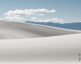 landscape photograph (white sands)