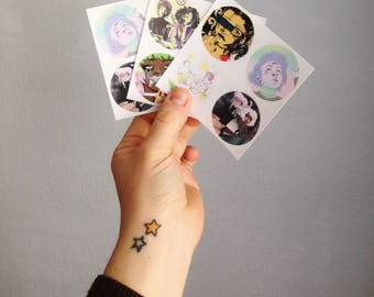 2 pack of stickers