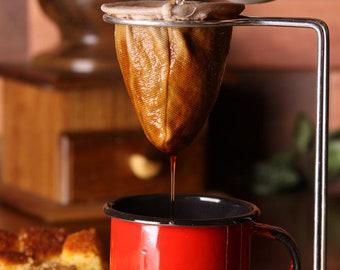 Rustic Coffee Filter - Fabric