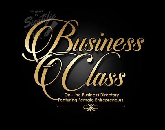 Custom Website Logo, Elegant Business Logo, Gold Cursive Lettering Logo Design, Blog Logo, Online Business Logo, Small Business Logo