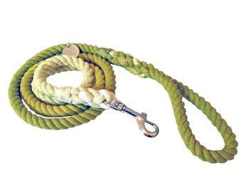 Green Ombre Premium Waglii Rope Leash