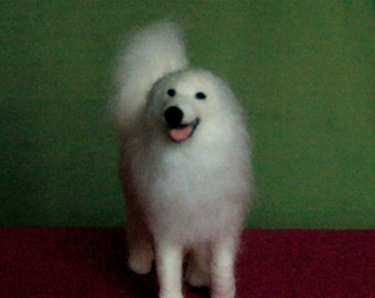 Needle Felted  Great Pyrenees - Pyrenean Mountain Dogs