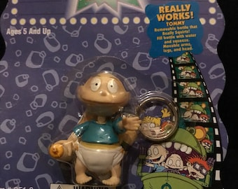 1998 Tommy Pickles Rugrats keychain
