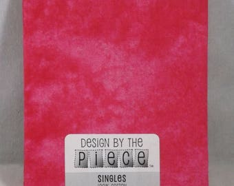 Hot Pink Fat Quarter - #119 - Design by the Piece