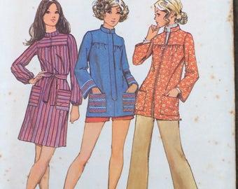 Smock Pattern / Simplicity 9675 / Size 12 / Vintage Smock Pattern / Vintage Simplicity Pattern / Misses Smock Pattern / UNCUT