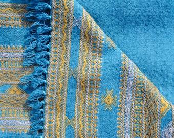 Merino Wool Handwoven Shawl