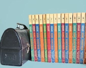 1961 Popular Mechanics Handyman Encyclopedia Set