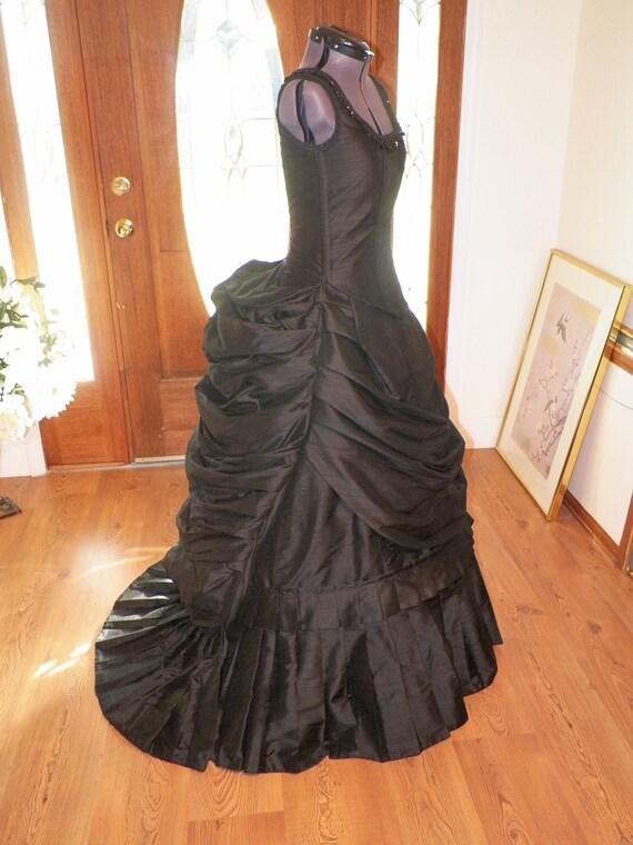 Victorian DressSteampunk DressGothic DressBustle