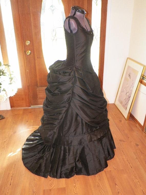 Victorian Dress Steampunk Dress Gothic Wedding Gown Mardi
