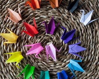 Mini Paper Cranes