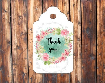 Thank You Tags - Business Tags - Thank You Cards - Instant Download - Print At Home - DIY