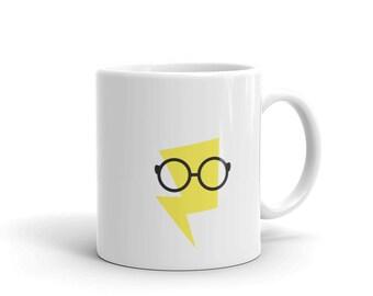 bolt mug, bolt cup, lightning bolt