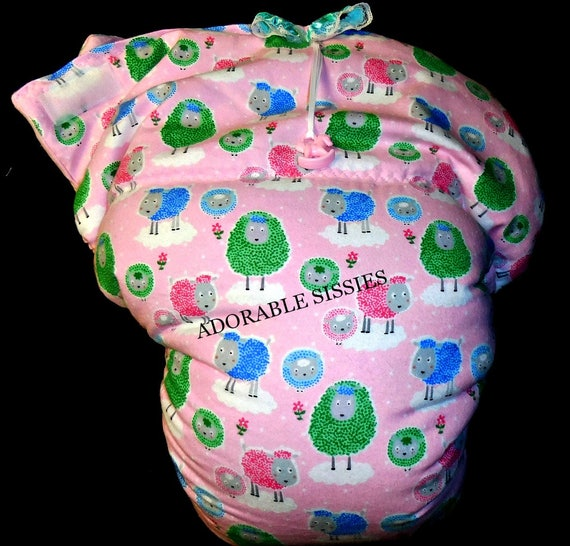 Waddle Diaper for ABDL for Adult Sissy Baby Adult Baby Sissy Diaper Lover Mh88f