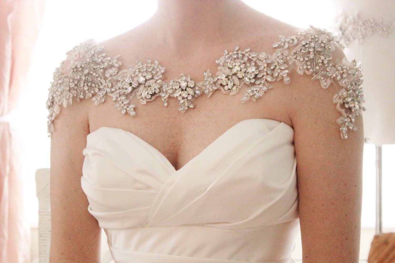 Bridal Bolero Rhinestone Bolero Crystal Bolero Wedding