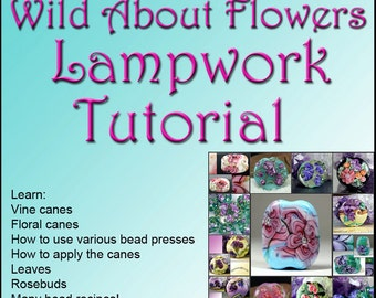 Jacqueline Parkers - ENGLISH VERSION Wild about Flowers Lampwork Tutorial Ebook