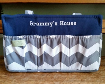 Free Personalized Diaper Caddy / Caddy