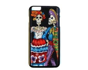iPhone Case Choose Your Case Size Skeleton Couple #D249