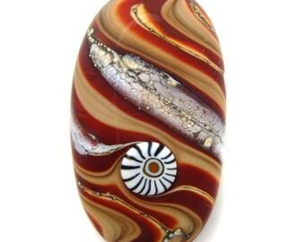 Momotombo Lampwork Focal Bead SRA