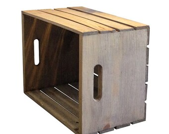 Rustic Crate - Wooden Crate Rustic Home Decor