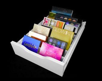 Palette Drawer Organizer (Fits IKEA® Alex Drawer Units) - Makeup Organizer - Makeup Drawer Insert - Palette Organizer