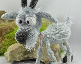 Amigurumi Crochet Pattern - Gus the Goat - English Version