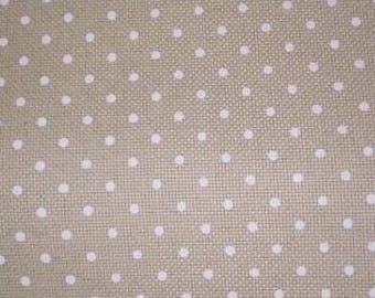 "Polka Dots 14 CT cross stitch fabric, 29.5"" x 35.5"""