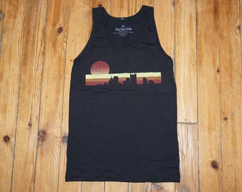 Pittsburgh Sunset Tank Top