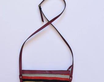 Boho Bag -032  Bohemian cross body bag  southwestern bag  Kilim Bag  Boho Bag Hippie Bag bolso del sudoeste sac bandoulire bohème sac kilim