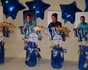 Graduation Centerpiece, Vase Picks, Party, Party Decorations, High School, College, Graduate,