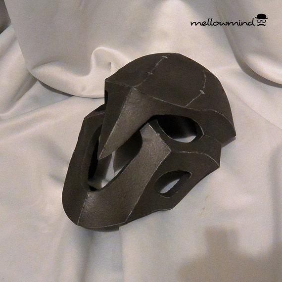 DIY Overwatch Reaper's mask template for EVA foam