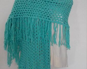 Beach Side Crochet Shawl