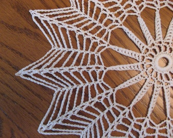 Crochet round 10 inch doily